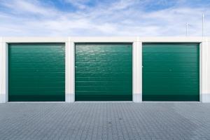 Garagenpark-Tore am Standort Hildesheim