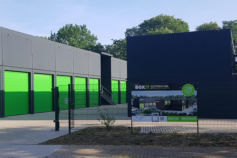 BOX-IT Duisburg. Top Renditen mit Garagen und Lagerflächen