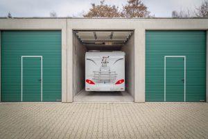 Wohnmobil in einer BOX-IT Garage in Siegen