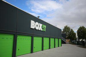 Einfahrt BOX-it Leipzig: Garagen und Lagereinheiten Mieten